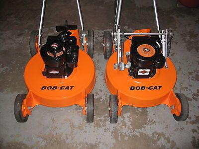 "Bobcat 21"" lawn mowers (pair)."
