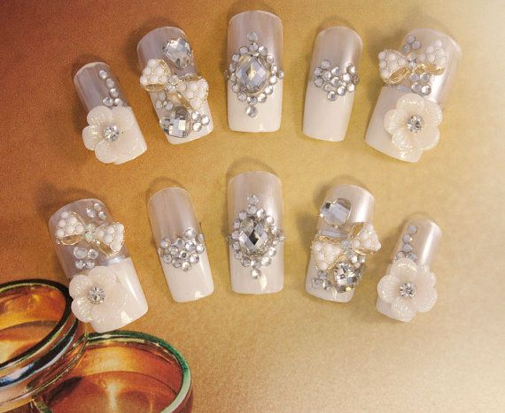 Bridal Wedding Nails