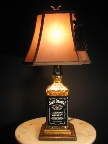 Jack Daniels Liquor Bottle Lamp Quality Guaranteed Bar Home New Man Cave | eBay