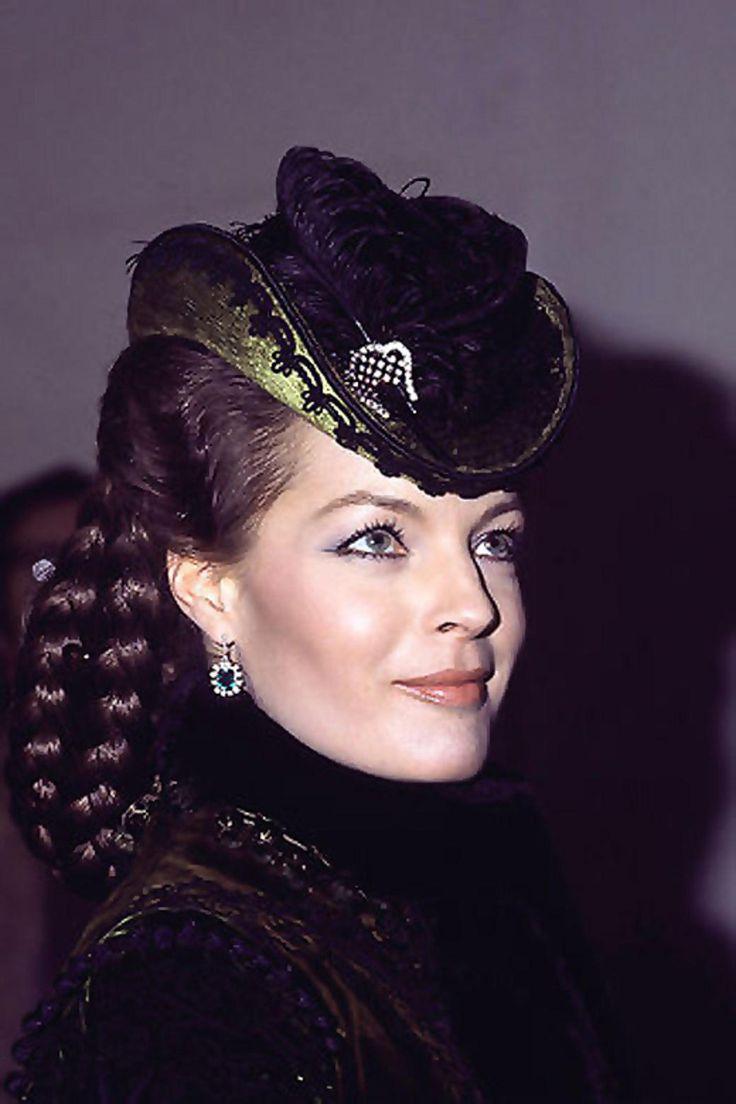 "Romy Schneider as Empress Elisabeth of Austria in ""Ludwig II"" (1972). Director: Luchino Visconti."