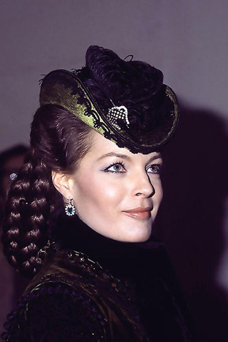 "Romy Schneider as Empress Elisabeth of Austria in ""Ludwig II"" (1972). Director: Luchino Visconti."