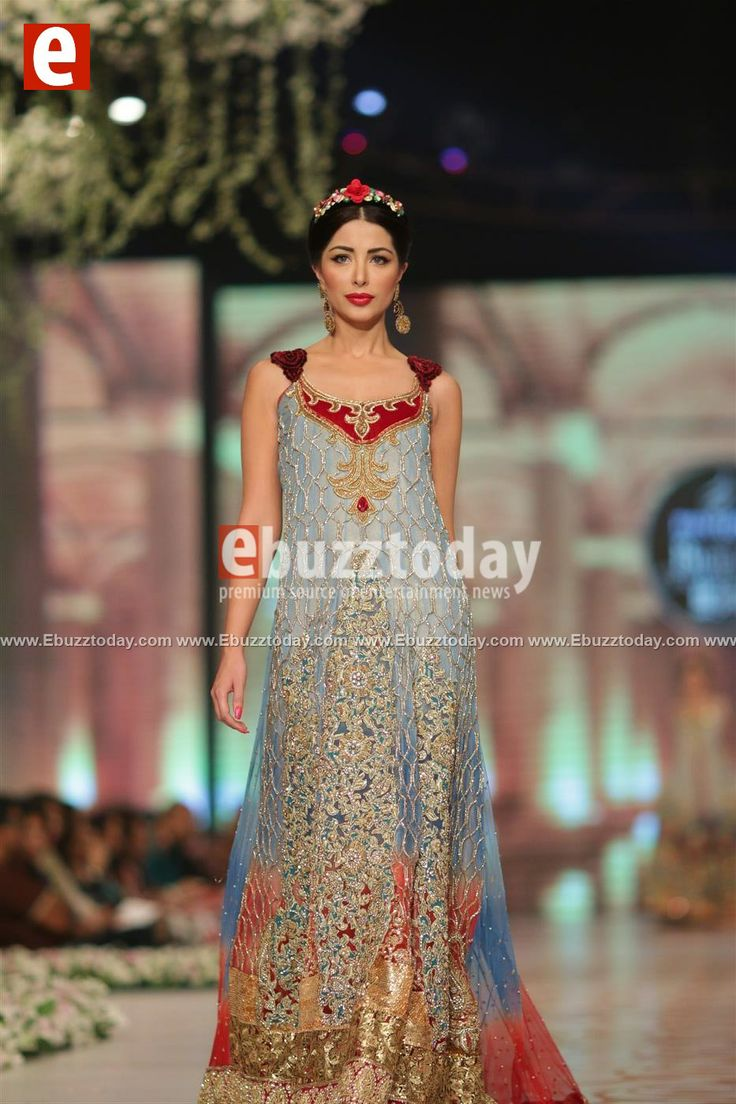 Tabassum Mughal at Bridal Couture Week 2014