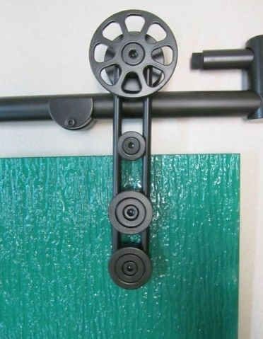 BARN DOOR HARDWARE FOR SLIDING GLASS SHOWER DOOR HARDWARE