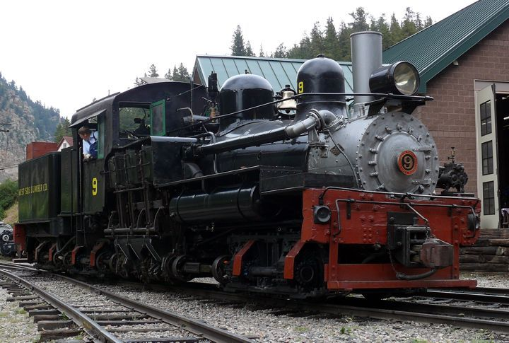 """Georgetown Loop Railroad, Colorado 