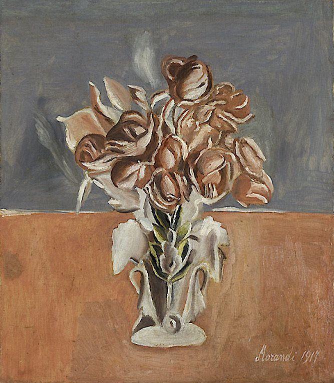 Giorgio Morandi - Roses - 1917