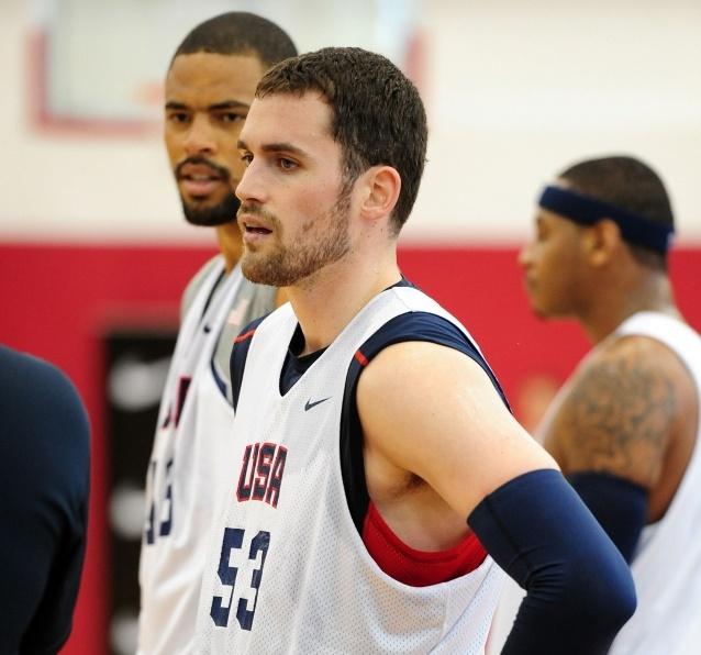 All-Star Forward Kevin Love Named Nominee for U.S. Men's Basketball Team