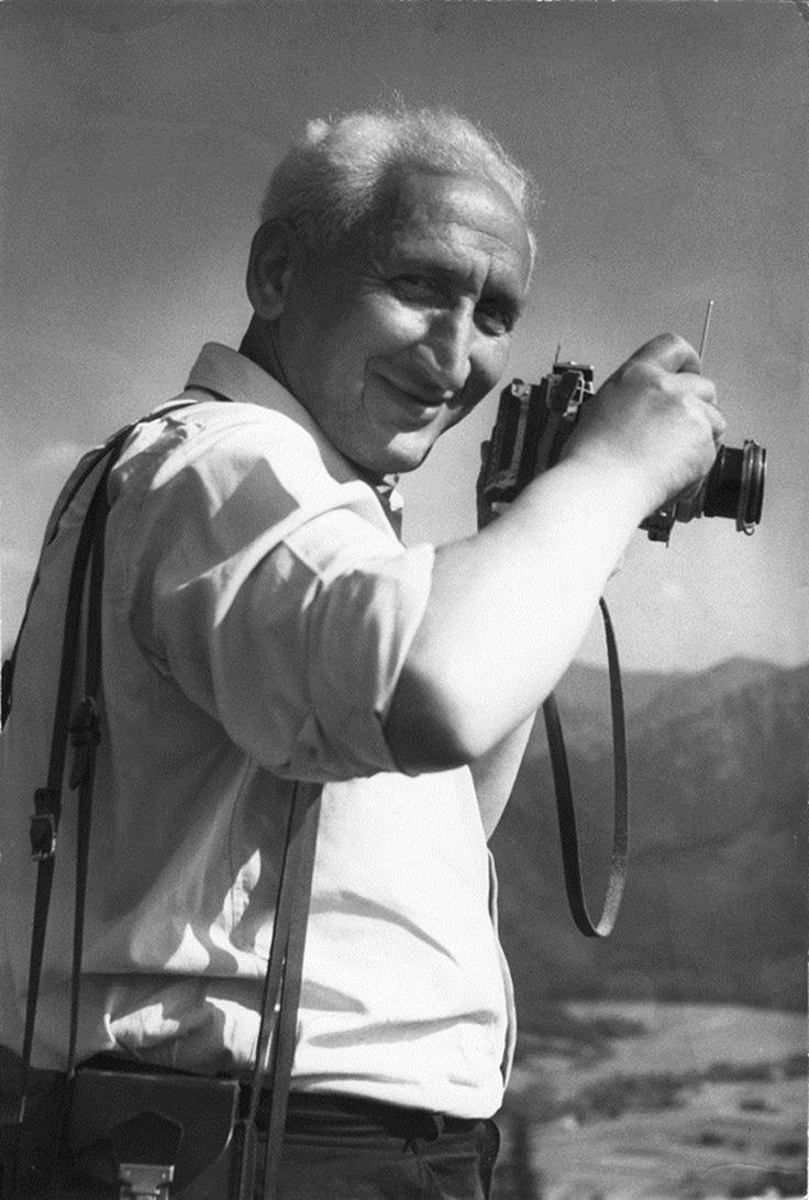 Vadas Ernő 1957-ben (Vadas Jolán felvétele) Fotó: © Vadas Ernő