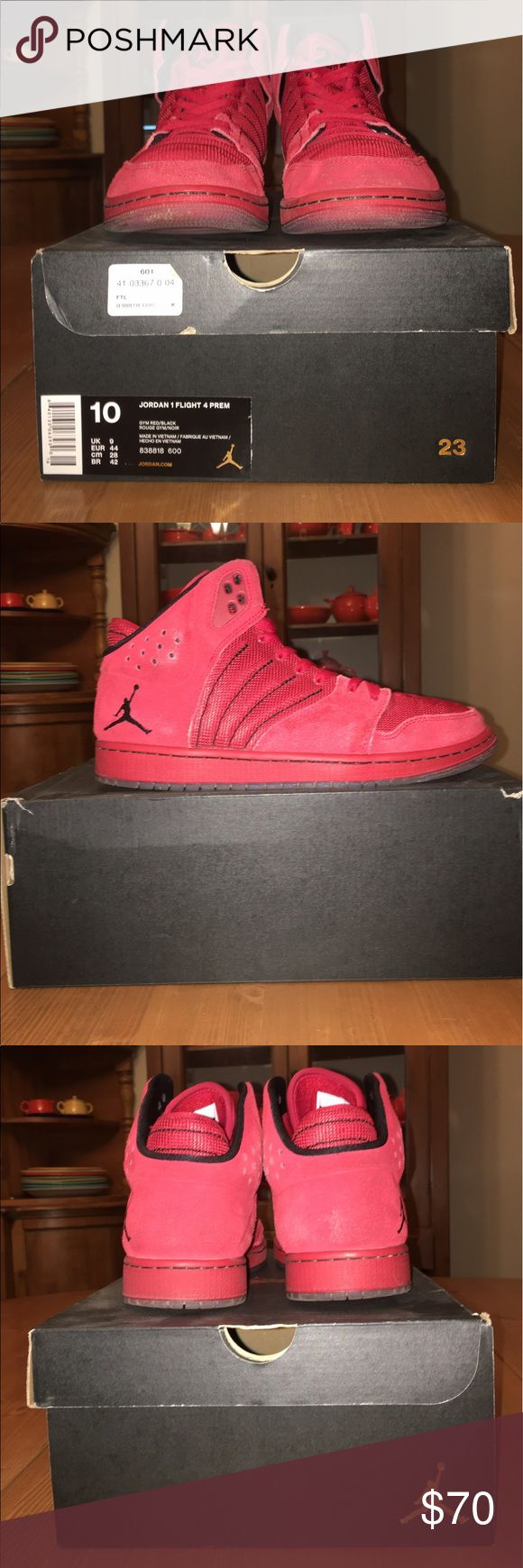 Jordan 1 Flight 4 Premium Jordan 1 Flight 4 Premium worn 4-5 times, good condition with box Nike Shoes Sneakers