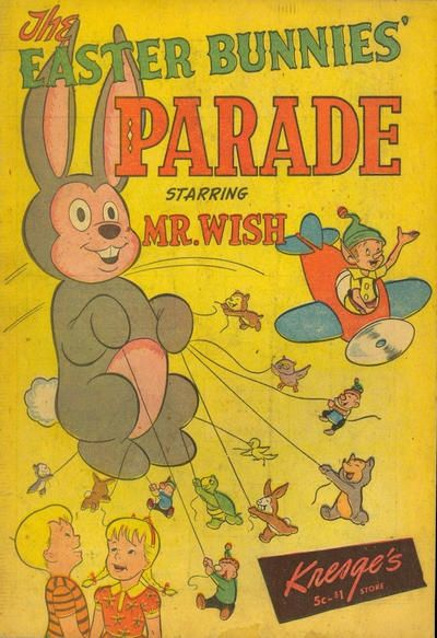13 best easter comics images on pinterest comic book comic cover for easter bunnies parade ss kresge co 1950 series fandeluxe Gallery