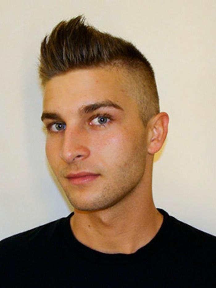 Men Pompadour High Fade Haircut Style - http://www.menhairstyles.us/men-pompadour-high-fade-haircut-style-5264.html