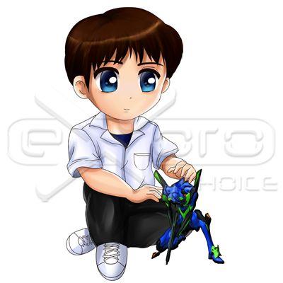 "Shinji Ikari Chibi Exoro Choice's Chibis – Shinji Ikari is the Third Child and the pilot of Unit 01. He is the son of Gendo and the ""late"" Yui Ikari.   Download the chibi on this link: http://exoroshop.com/product/shinji-ikari-chibi  For more information or for any questions, contact info@exorochoice.com.au or pascalg@studiogrfx.com.   #chibi #cute #exoroshop #shinji #shinjiikari #evangelion"