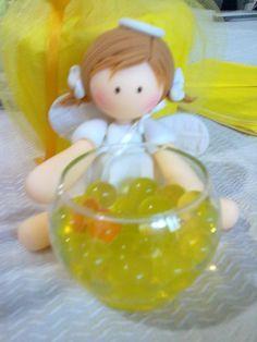 angelitos de porcelana fria y peceras - Buscar con Google