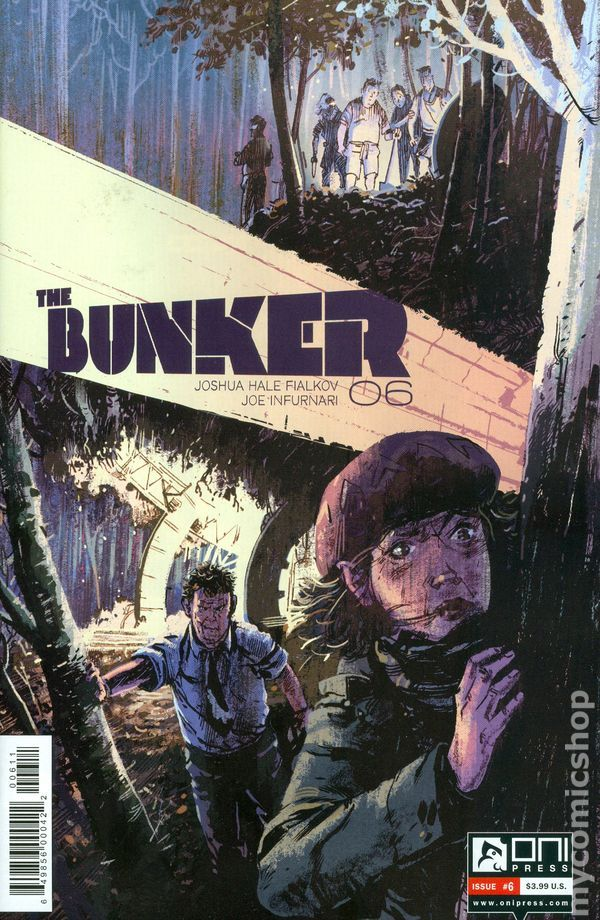 Bunker (2014 Oni Press) 6 Oni Press Modern Age Comic Book covers