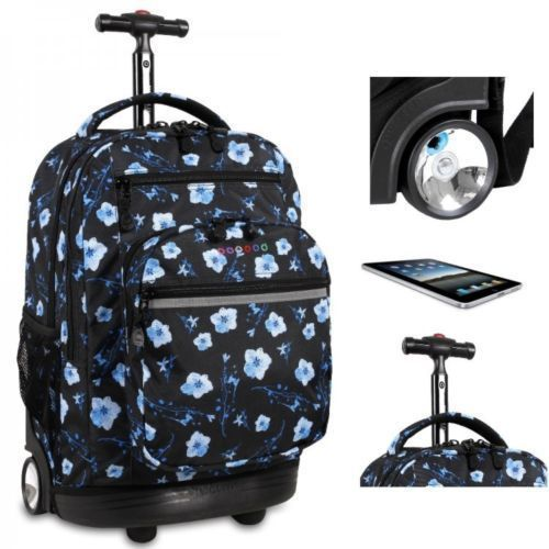 "Women's #Rolling #Backpacks #Laptop #Luggage #Kids #Wheeled #School Book Bag Carry 20"" #JWorldNewYork #Backpack #ShoppingOnlineDeals #DanAnnStore #Buyablepins"