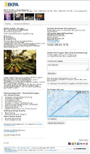 Eventmanagement, Eventplanung, Veranstaltungsplaner, Veranstaltungsplanung, Brugg, EKPA GmbH - Eventagentur