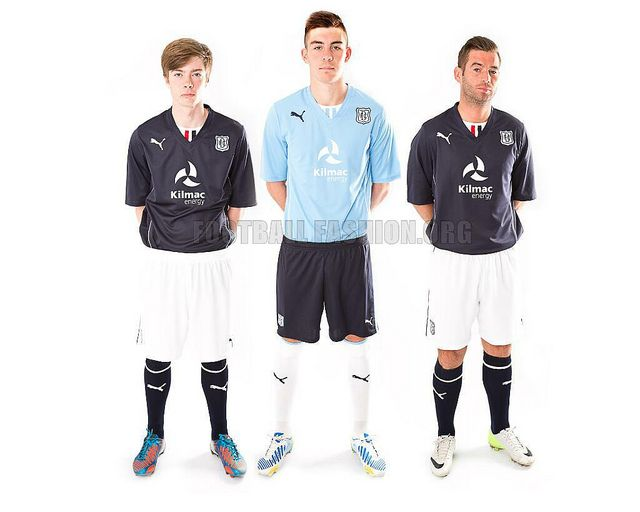 Dundee FC 2013/14 PUMA Home and Away Kits