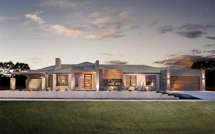 Denver Vogue Facade 5, New Home Designs - Metricon