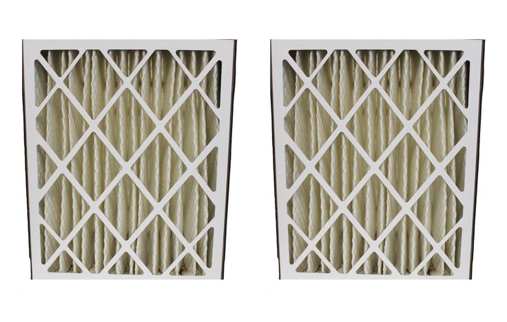 2 20x25x5 MERV-8 GeneralAire Pleated HVAC Filters