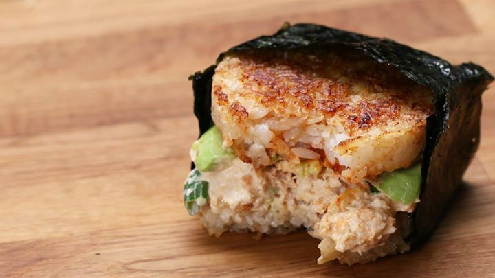 Spicy Tuna Rice Burger – WiiGot.com
