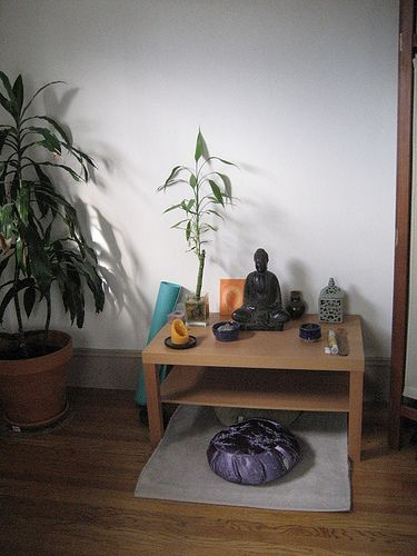 Have a meditation space. Make it your own. Use in scents, candles, crystals, plant life. Whatever feels right to you. Follow your senses and chakras.