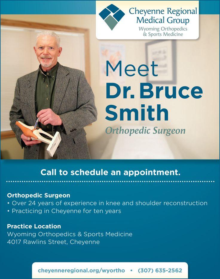 Meet Dr. Bruce Smith, Wyoming Orthopedics & Sports