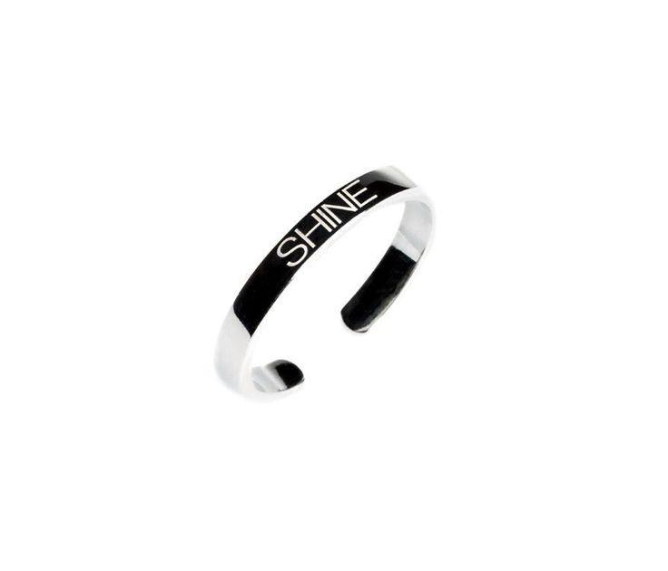Power Quote SHINE Ring - HeidisHoff.no #silver #jewellery