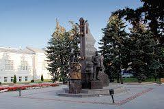 Памятник военным музыкантам. Тамбов