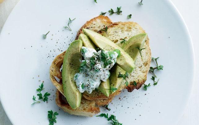 Grøn bruschetta - til dig der er vild med grøn mad