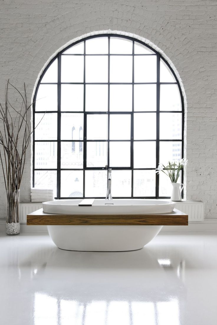 Wetstyle products, fixtures and accessories at Snyder Diamond include contemporary freestanding tub | LuxeSource | Luxe Magazine - The Luxury Home Redefined