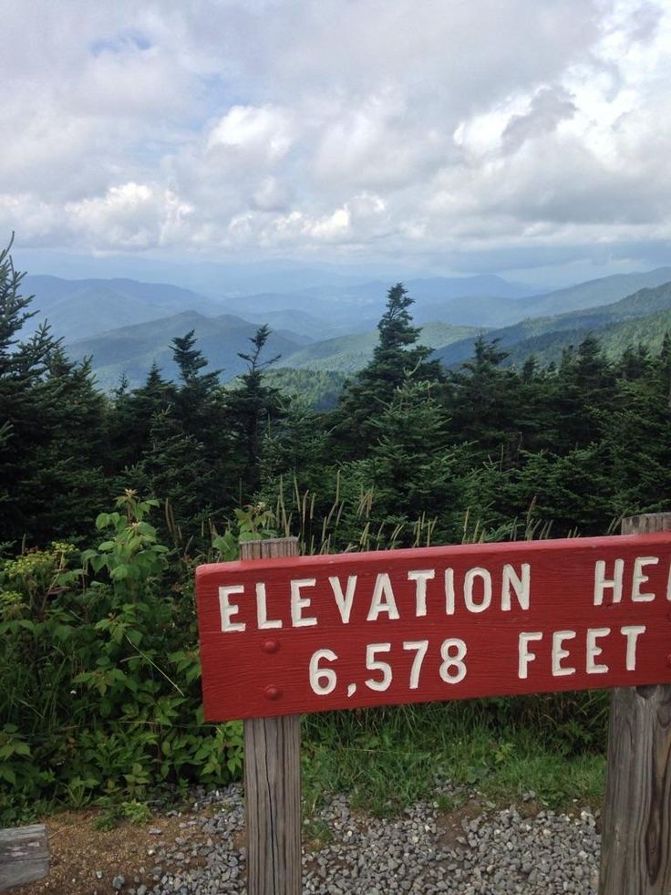At Mount Mitchell, the highest peak east of the Mississippi. –Beverly-Hanks & Associates