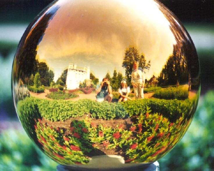 Gazing Ball @ The Missouri Botanical Gardens.