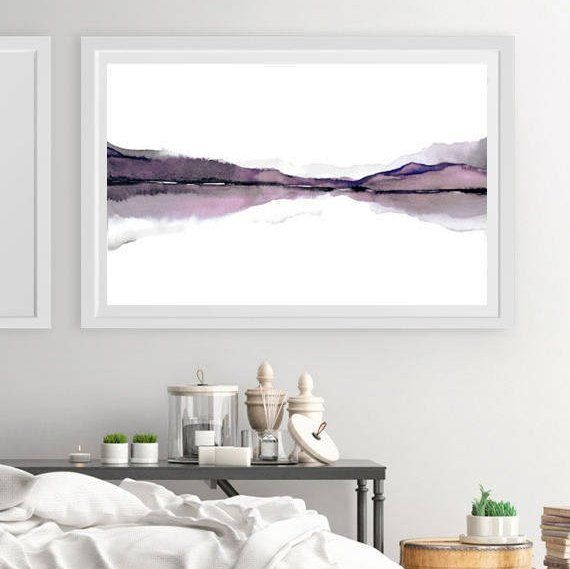 X Large Print Art Large Horizontal Wall Decor Abstract Landscape