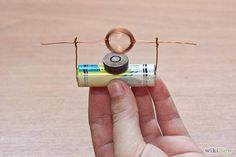 How to Make an Engine from a Battery, Wire and a Magnet #science
