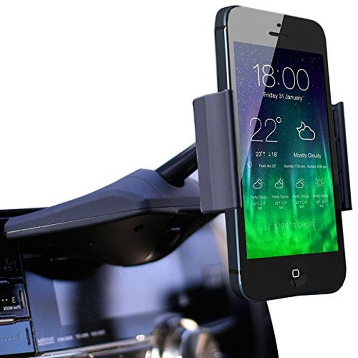 Koomus CD-Air CD Slot Smartphone Car Mount Holder Cradle for All iPhone and A...