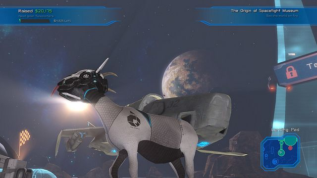 Goat Simulator's DLC parodying Mass Effect, Star Wars launches on PS4 next week