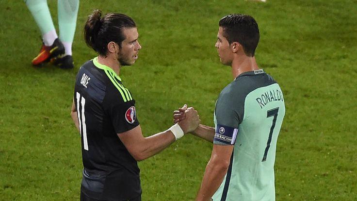 Gareth Bale and Cristiano Ronaldo faced off in the Euro 2016 semi-final