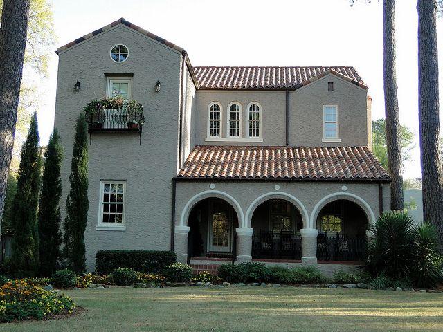 Spanish Mission Style Home Homewood Alabama And House