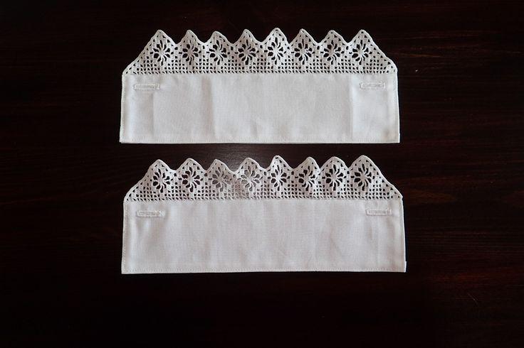 Handarmer til Fanabunad kr 600,- Brukes under jakke, heklekantene stikker frem foran jakkeermet. Jeg har også andre heklemønster til handarmer.