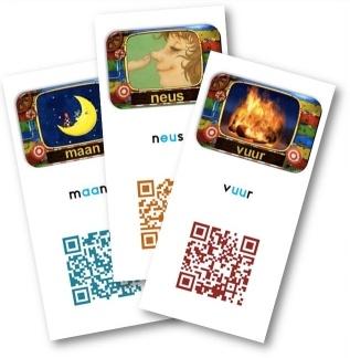 Qr kaarten Veilig Leren Lezen