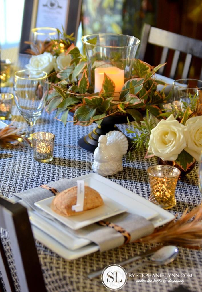 17 Best Images About Thanksgiving Tablescapes On Pinterest