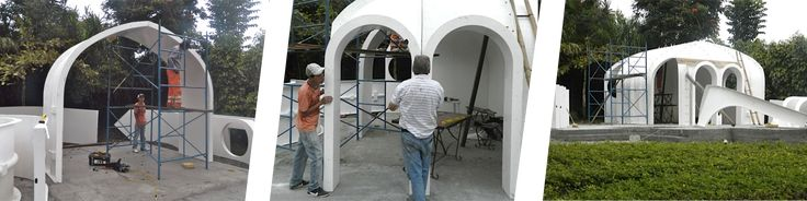 amazing Diy Eco Hobbit House Kit  #Cabin #DIY #Hut #Miniature #World A manufacturer offers a prefabricated DIY eco hobbit house kit reinforced fiber that is easy to install. It remains only to vegetate the top of the shell...