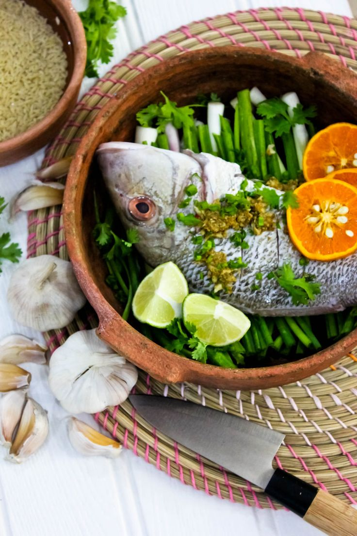 37 best images about clay pot cooking on pinterest for Clay pot fish