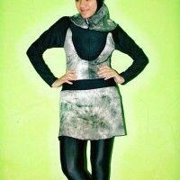 BRMD201426 Baju Renang Muslimah Dewasa Motif Abstrak beli di ellima.web.id