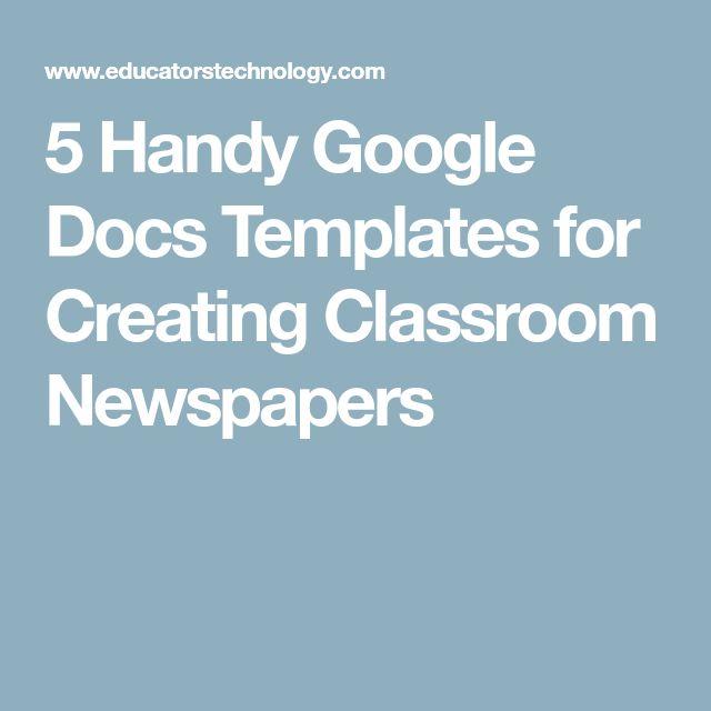 54 best Google docs images on Pinterest Google classroom, Google