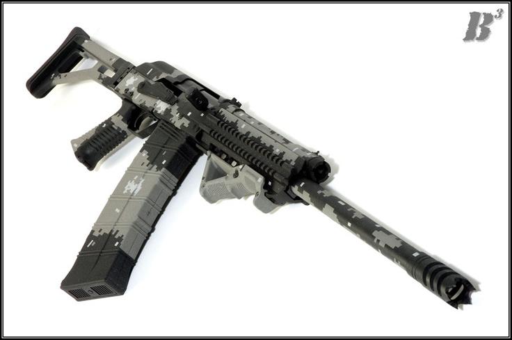 how to set up a shotgun stock