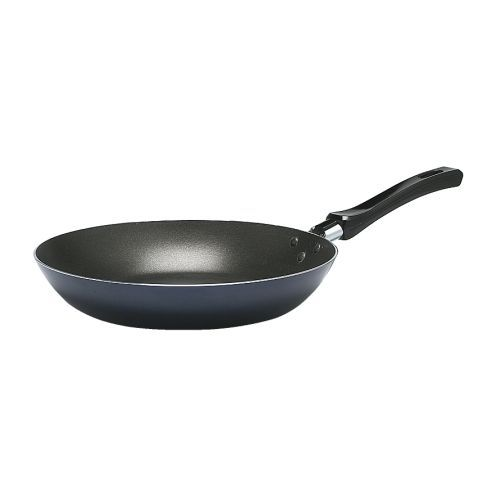 STEKA  Frying pan, dark blue  ¥ 7.90  Article Number : 301.916.73  Low weight makes the pan easy to handle, even when filled with food.