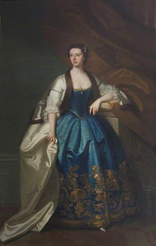 """Anna Catherine Vernon, Mrs Richard Lockwood"", Enoch Seeman the younger, 1741; NT 653154"