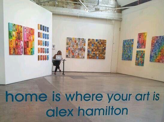 Exhibition view - Alex Hamilton, Sydney, Australia Oct 2013