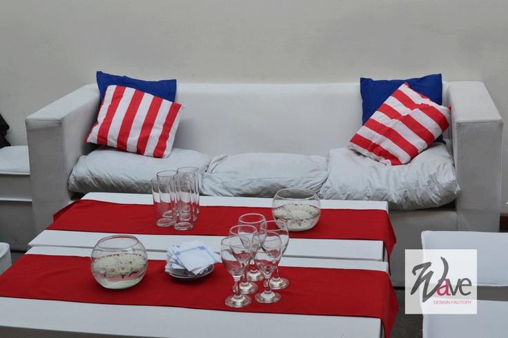 Mesa Dulce Marinera!!   Navy Sweet Table!!