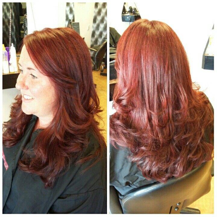 Gorgeous Matrix Socolor 6rv Hair Amp Make Up Long Hair